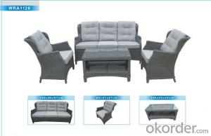 Outdoor Furniture Rattan Sofa CMAX-WRA1126