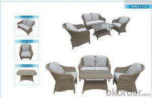 Outdoor Furniture Rattan Sofa CMAX-WRA1103