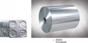 Aluminum Foil Tablets Pills Pharmaceutical Blister Packaging
