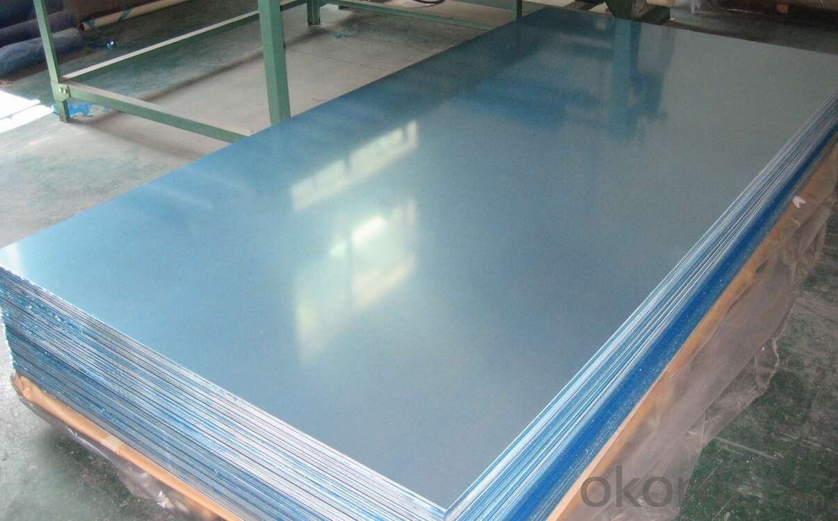 Mill Finined Aluminum Sheets 1xxx USed for Construction