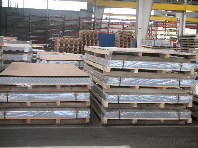 Mill Finished Aluminum Sheet/Aluminium Plate from China