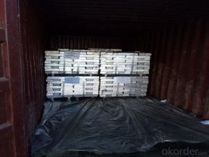 Magnesium alloy ingots to European Markets with Good Quality