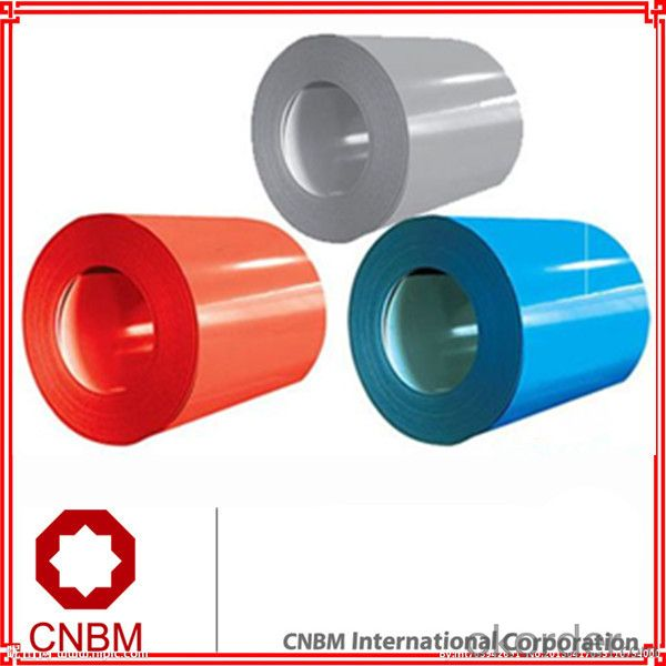 Prepainted steel coil construction building material with galvanized color
