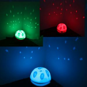 Baby Sleep Lamp with Music Soundbox Colorful Constellation Lights Music Projection Light