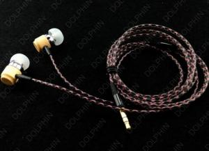 Top Quality Stereo Zipper Earphone From New Design