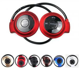 Mini Bluetooth Headset with SD Card FM Radio Super Bass Advanced 4.0