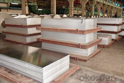 6061 T6 Mill Finished Aluminum Plain Sheet from China