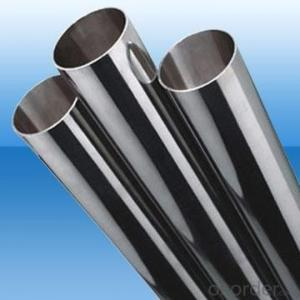 Galvanized Cold Drawn Stainless Steel Pipe With 2 Plastic Caps