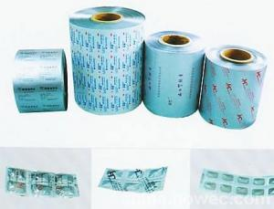 AL/PE Laminated Strip Pack for drugs package