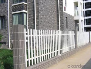 Multifunctional PVC Picket Fence Made in China