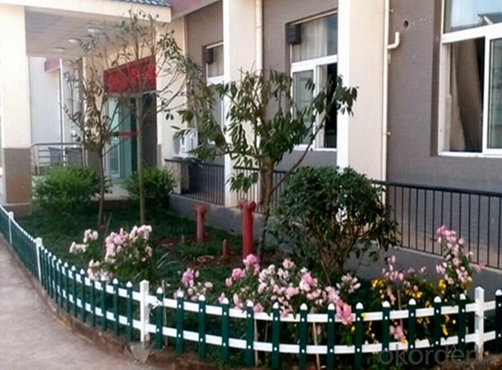 Plastic PVC White Picket Fence for Wholesales