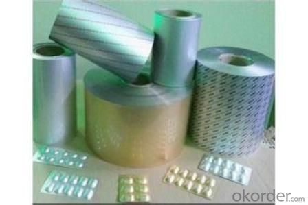 POPULAR PTP BLISTER FOIL FOR MEDICAL PACKAGE