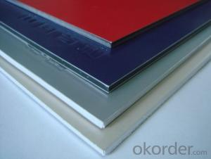 PVDF Coated Aluminium Composite Panel ACP