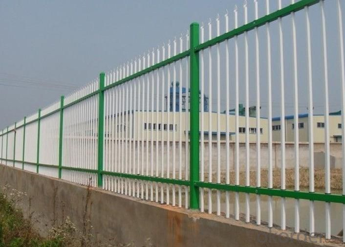 PVC Picket Fence with High Quality and New Design