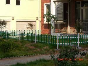 Professional PVC Picket Fence with CE Certificate