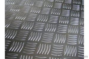Auminium Tread Plate with Five Bars Embossed Sheet