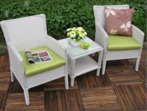 Outdoor PE Wicker/Rattan Sofa CMAX-YHA116