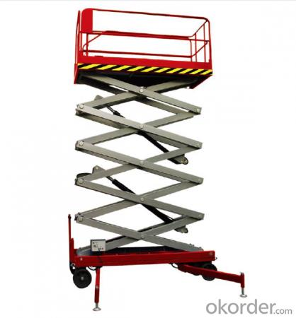 CMAX  Manual scissor lift working platform
