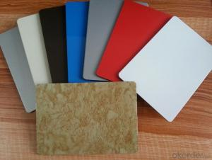 Acm Material Mirror Hairline Brushed Polyester PE Kynar 500 Nano PVDF Aluminium Composite Panel