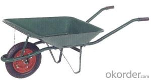 Wheel Barrow with  WB1200 For Construction