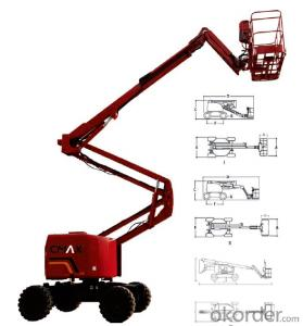 CMAX  Self-propelled Boom Lift work platform