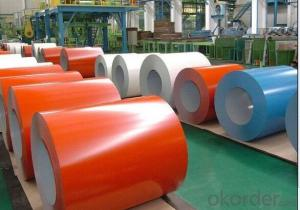 Prepainted Galvanized/Aluzing Steel coil for Roofings