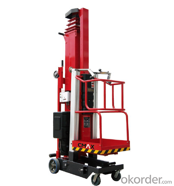 CMAX  MANUAL SLEEVE AERIAL WORK PLATFORM