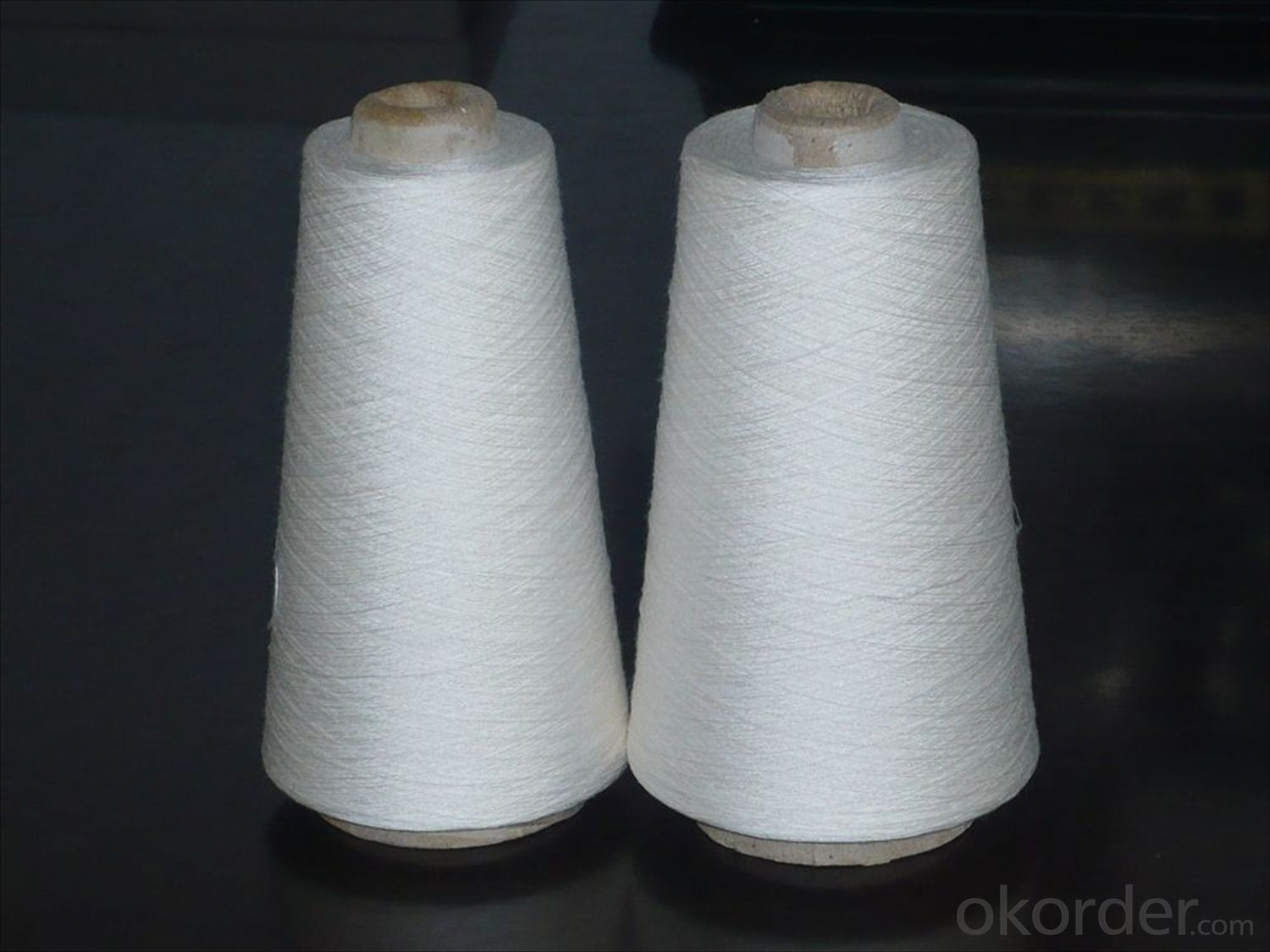 Natural color cotton yarn