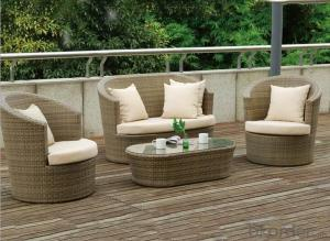 Outdoor PE Wicker/Rattan Sofa CMAX-YHA040