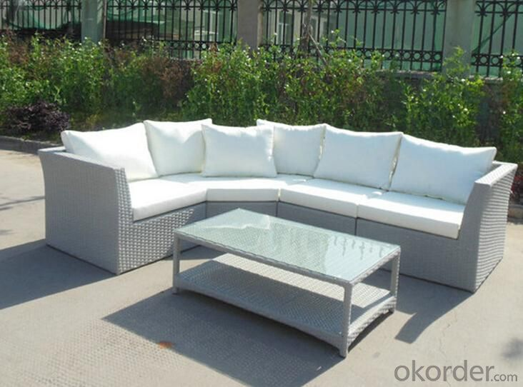 Outdoor PE Wicker/Rattan Sofa CMAX-YHA014