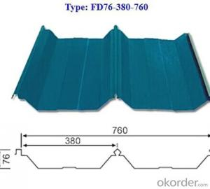 Steel Plate of Color Coated Gi Corrugation