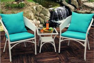 Outdoor PE Wicker/Rattan Sofa CMAX-YHA124