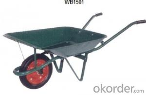 Wheel Barrow with  WB1501 For Construction