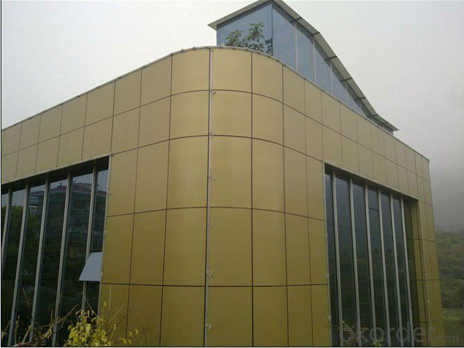 ACP Aluminium Composite Panel For Outdoor Decoration