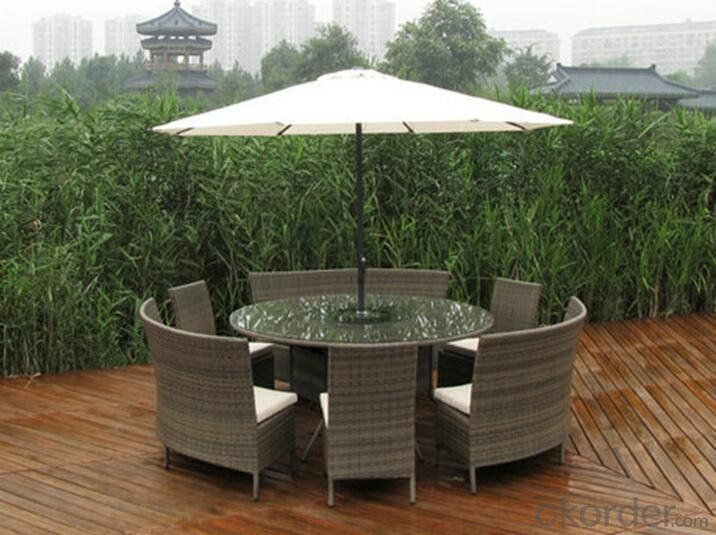 Outdoor PE Wicker/Rattan Sofa CMAX-YHA074