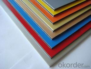 ACP Alucobond Aluminium Composite Panel For Outdoor Decoration