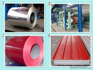 Prepainted Galvanized/Aluzing Steel coils for Roofings