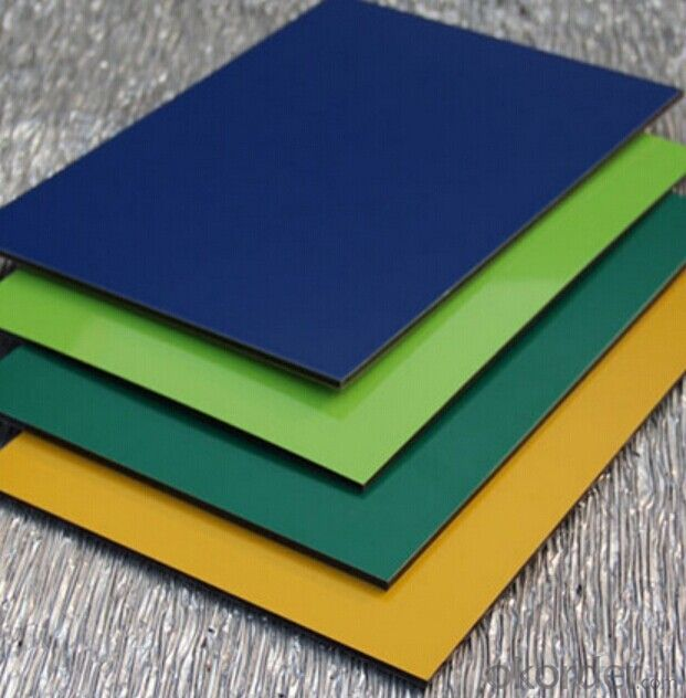 PVDF/PE ACP Alucobond Aluminium Composite Panel For Outdoor Decoration