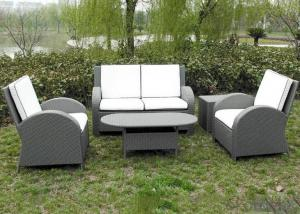 Outdoor PE Wicker/Rattan Sofa CMAX-YHA030