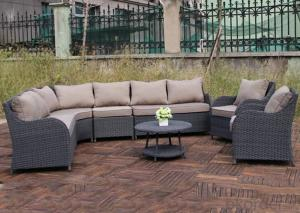 Outdoor PE Wicker/Rattan Sofa CMAX-YHA121
