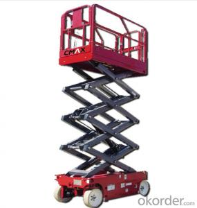 CMAX  Self-propelled Scissor Lift Working Platform