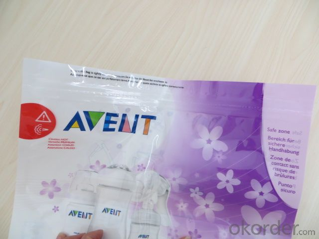 Hot Temperature Microwave Sterilizer Laminated Packing Bag