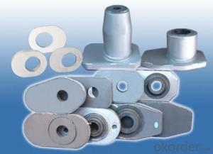 Slide Gate Nozzle Brick Slide Gate Bricks for Ladles