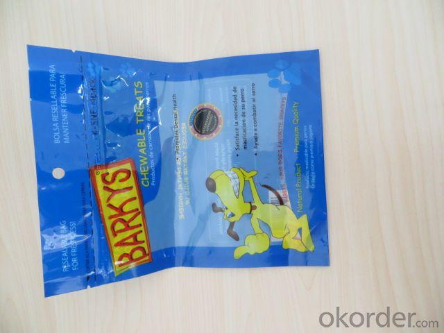 Quad Bottom Sealing Color Printed Laminated Bag from China