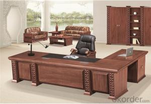 Office Executive Workstation with Veneer Painting Face