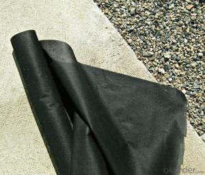 Weed Barrier Fabric/ Polypropylene Fabric with Black Color