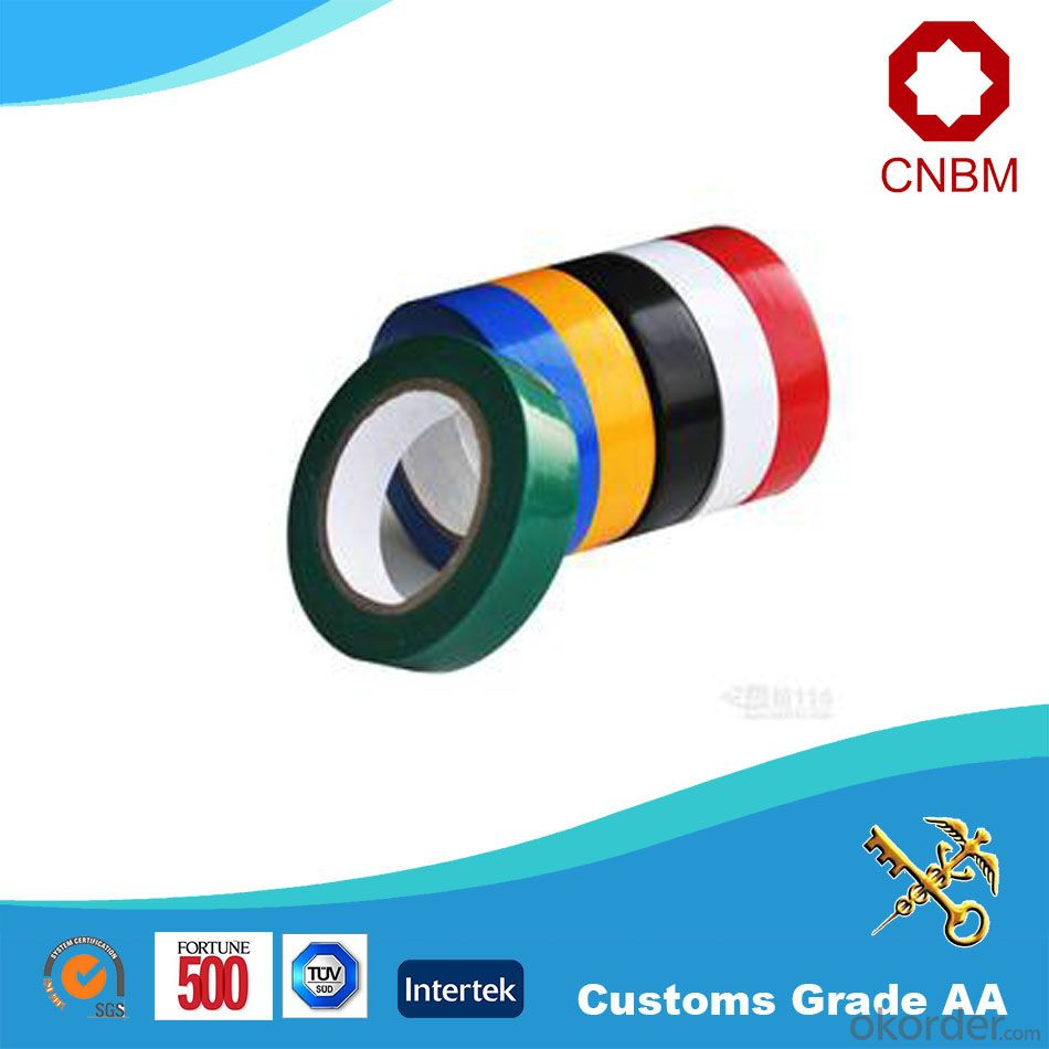 PVC Electrical Tape Natural Rubber ISO9001