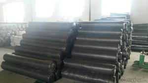 Silt Fence with Pocket/ Polypropylene Fabric
