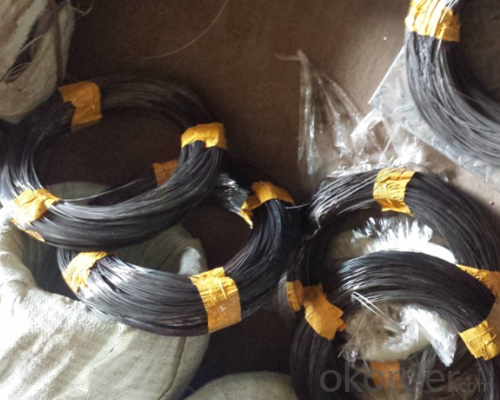 Black Wire 1.1mm 1.2mm 1.6mm 2.0mm 3.0mm 4.mm PVC Coated Copper Wire