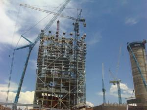 CMAX Luffing Tower Crane TCD 4021 Construction Machine